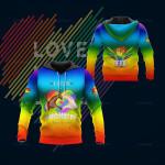3D All Over Printed LGBT NTA Shirts Ver 1 (Rainbow)