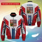 3D Bomber Jacket - Limited Edition - Czech