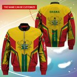 3D Bomber Jacket - Limited Edition - Ghana