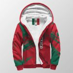 3D Print Full Sherpa Hoodie - Mexico