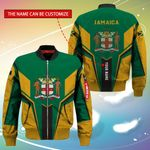 3D Bomber Jacket - Limited Edition - Jamaica