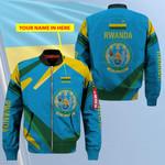 3D Bomber Jacket - Limited Edition - Rwanda