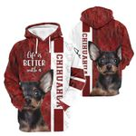 3D Apparel - Life Is Better With A Chihuahua