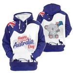 3D Premium Apparel - Happy Australia Day