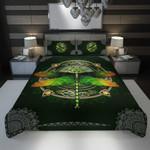3D Full Printing Bedding Set - Dragonfly (Green Version)