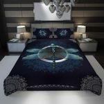 3D Full Printing Bedding Set - Dragonfly (Turquoise Version)