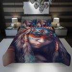 3D Full Printing Bedding Set - Native Americans
