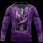 3D TATTOO AND DUNGEON DRAGON HOODIE HAC27123