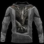 3D TATTOO AND DUNGEON DRAGON HOODIE HAC27125