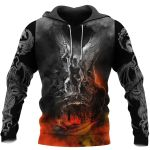 3D ALL OVER PRINTED DRAGON HOODIE NM050937