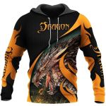 TATOO DUNGEONS AND DRAGONS ARMOR 3D HOODIE NM050964