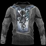 3D TATTOO AND DUNGEON DRAGON HOODIE HAC020114