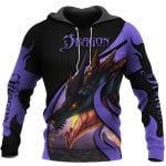 TATOO DUNGEONS AND DRAGONS ARMOR 3D HOODIE NM050963
