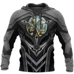 3D TATTOO AND DUNGEON DRAGON HOODIE HAC101203