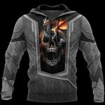 3D TATTOO AND DUNGEON DRAGON HOODIE HAC020112