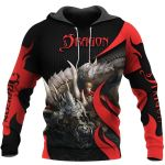 TATOO DUNGEONS AND DRAGONS ARMOR 3D HOODIE NM050960