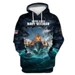 """US Navy Veteran """"The sea is ours"""" NHQHT1109NA"""