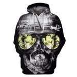 Skull 3D Hoodie 01