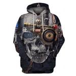 Skull 3D Hoodie 15