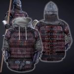3D All Over Printed Vikings Armor Tops HP699