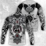 All Over Printed Viking Tattoo Shirts