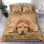 Golden Retriever Bedding Set