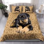 Rottweiler puppy bedding set