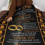 3D Print Full Blanket - Valentine - To my wife V2