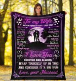 3D Print Full Blanket - Valentine - To my wife V3