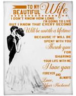 3D Print Full Blanket - Valentine - To my wife V8