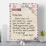 3D Print Full Blanket - Valentine - To my wife V10