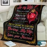 3D Print Full Blanket - Valentine SALE 0FF 20% - To my wife V14
