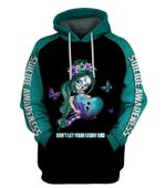 Suicide Awareness Sugar Skull Girl Dont Let Your Story Ends Unisex Hoodie