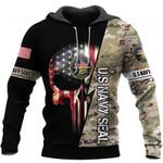 US Navy Seal Skull Unisex US Size Hoodie