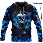 3D Skull Hoodie V21