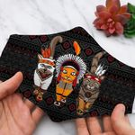 NATIVE AMERICAN FACE MASK 28