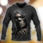 3D Skull Hoodie V26