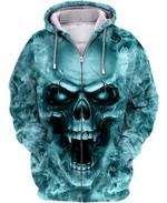 3D Skull Hoodie V35