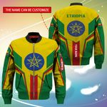3D Bomber Jacket - Limited Edition - Ethiopia