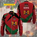 3D Bomber Jacket - Limited Edition - Kenya