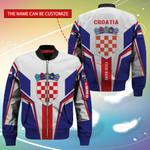 3D Bomber Jacket - Limited Edition - Croatia