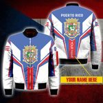 3D Bomber Jacket - Limited Edition - Puerto Rico