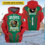 3D All-over Printed Apparels 'Mexico' Crovell-X9