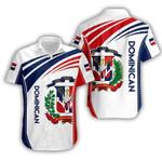 3D Hawaii Shirt & Short - Dominican - X3