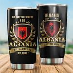 3D All-over Printed Tumbler 'Albania' Yirado-X2