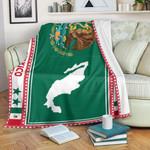 3D All-over Printed Fleece Blanket 'Mexico' Odesea-X1