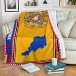 3D All-over Printed Fleece Blanket 'Armenia' Odesea-X1