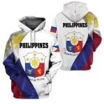3D All-over Printed Apparels 'Philippines' Crovell-X1
