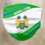 Fabric Face Mask 'Sierra Leone' Idagon-X1