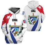 3D All-over Printed Apparels 'Cuba' Crovell-X1